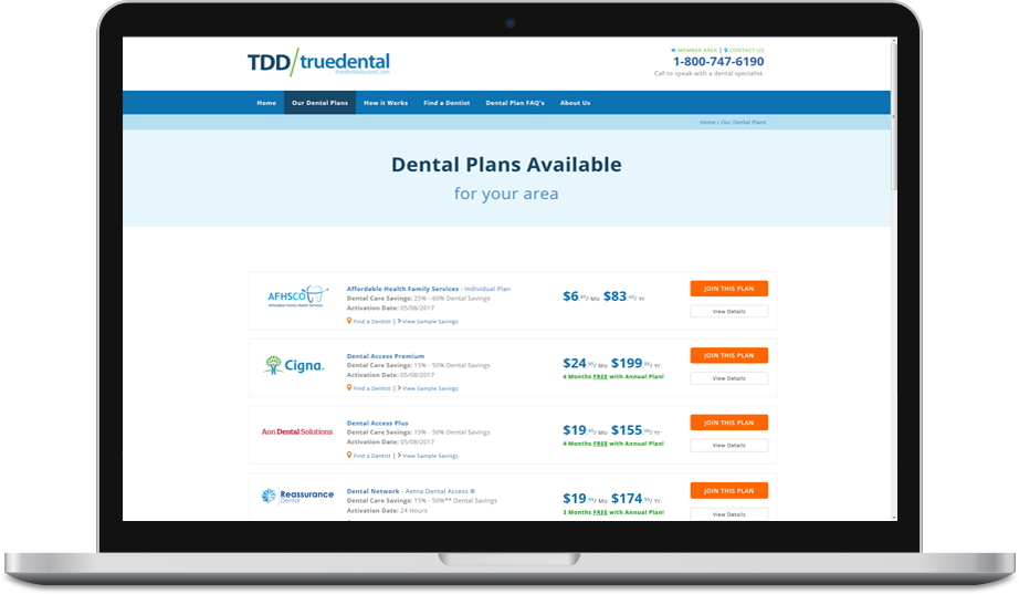 Compare Dental Plans